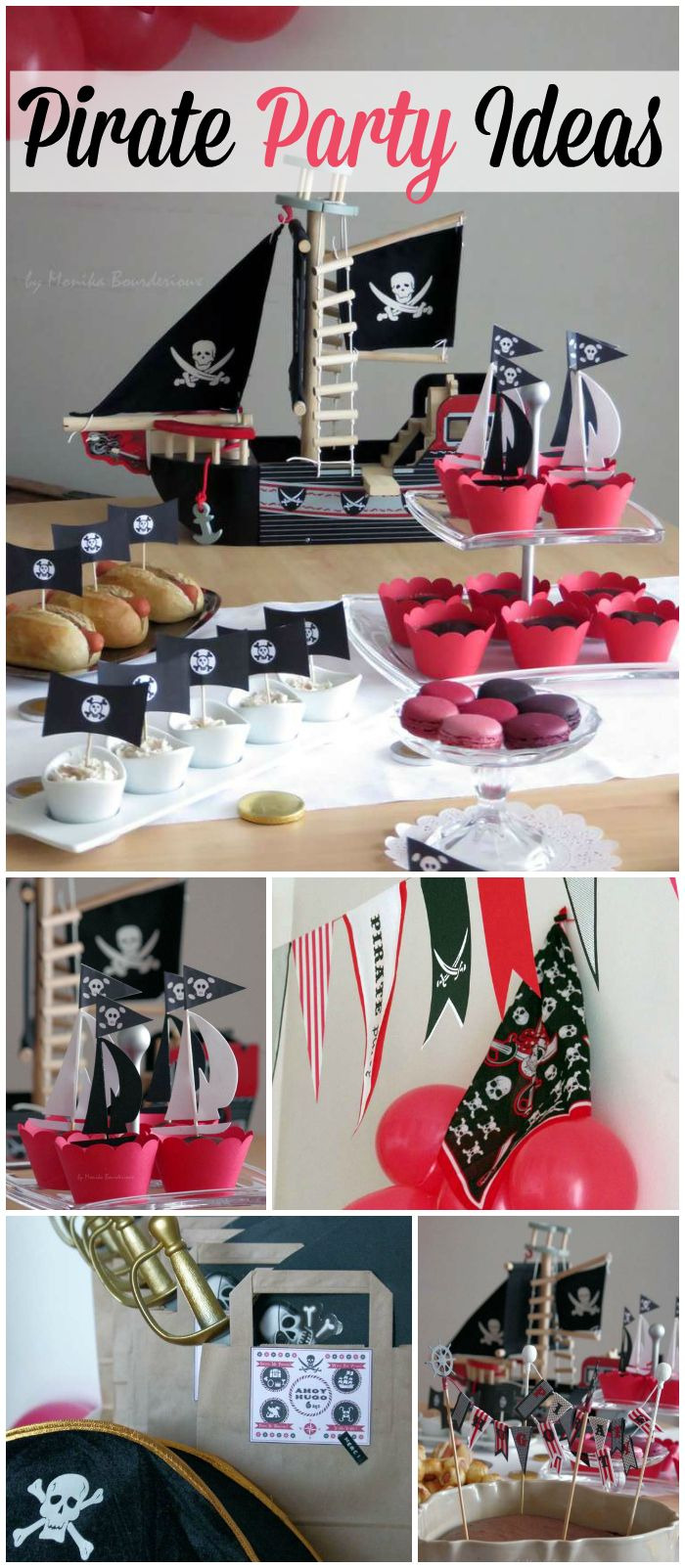 What an amazing pirate party! Excellent decorations! See more party ideas at CatchMyParty.com!