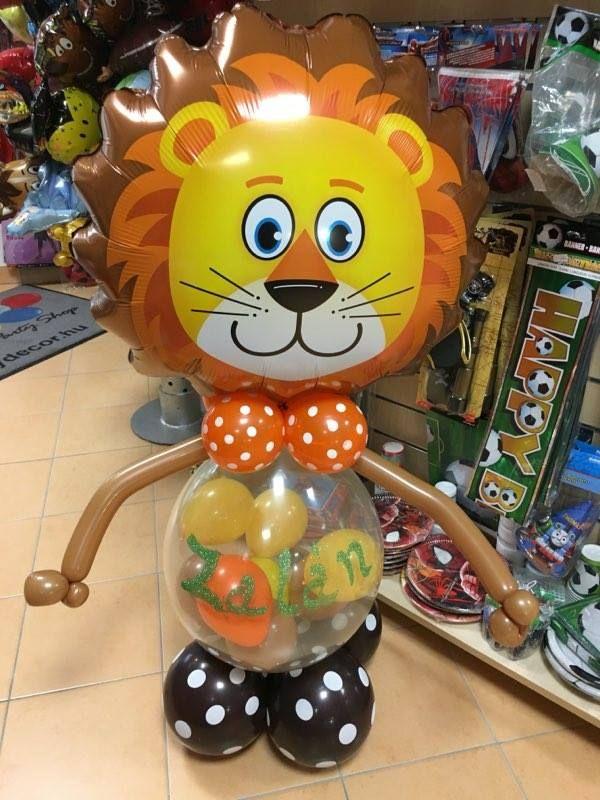 Oroszlán lufi dekoráció akár születésnapra vagy személyre szólóan névnapra és egyéb alkalmakra kérheted. :)  #oroszlán #lufi #design #balloon #lion
