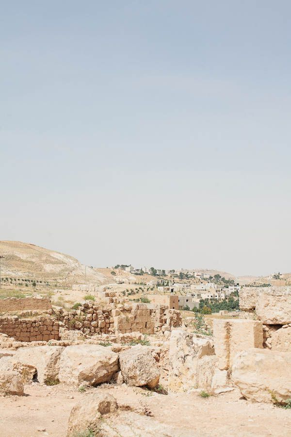 Sunny Skies Over the Herodian Ruins of Palestine | photography by http://www.monocularspectacular.com/