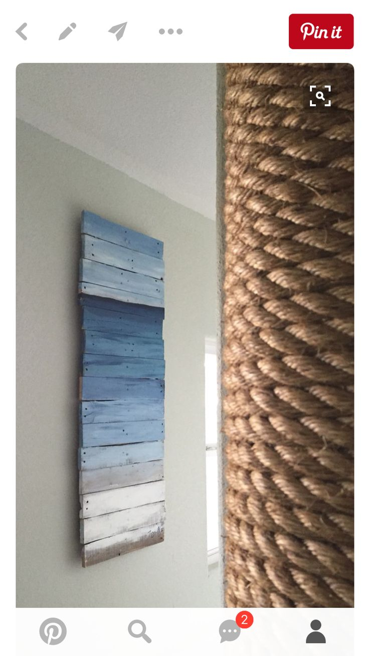 Cover Pole W Rope Love This Idea For Basement More