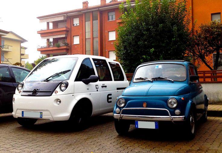 New Mascot at the E-Office! FIAT 500  E-move.me