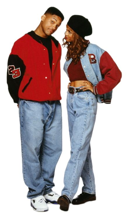Will Smith & Tyra Banks fresh prince of bel air - these two are magic.