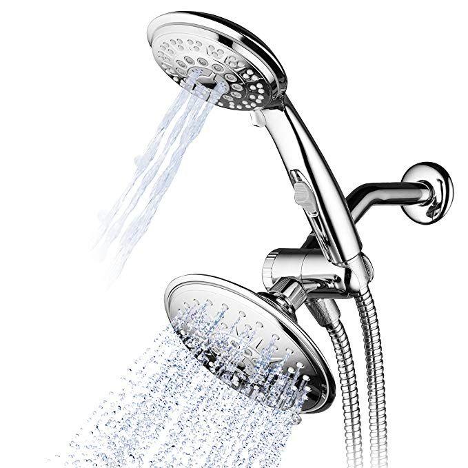 Hydroluxe 1842 30 Setting Ultra Luxury 3 Way 6 Inch Rainfall