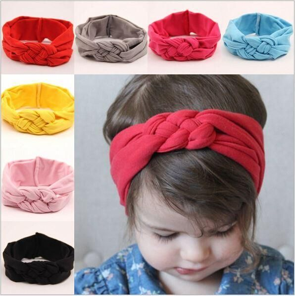 Шьем повязки на голову для девочек