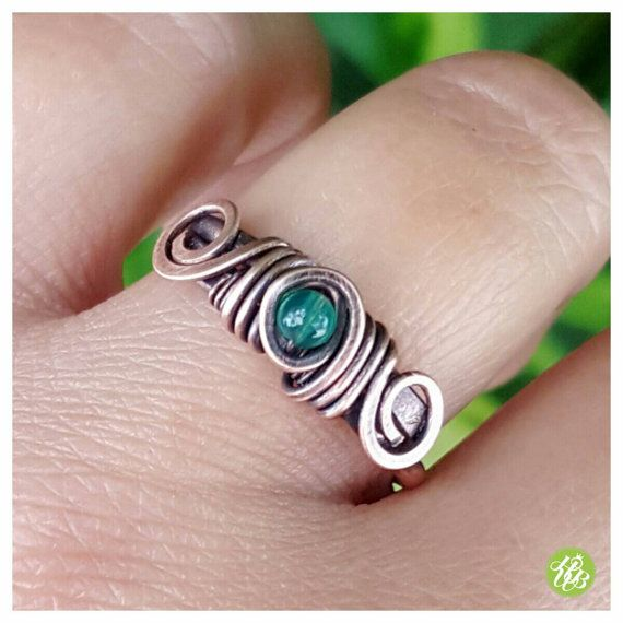 Hey, I found this really awesome Etsy listing at https://www.etsy.com/listing/466233557/jade-wire-wrapped-ring-copper-wire-ring