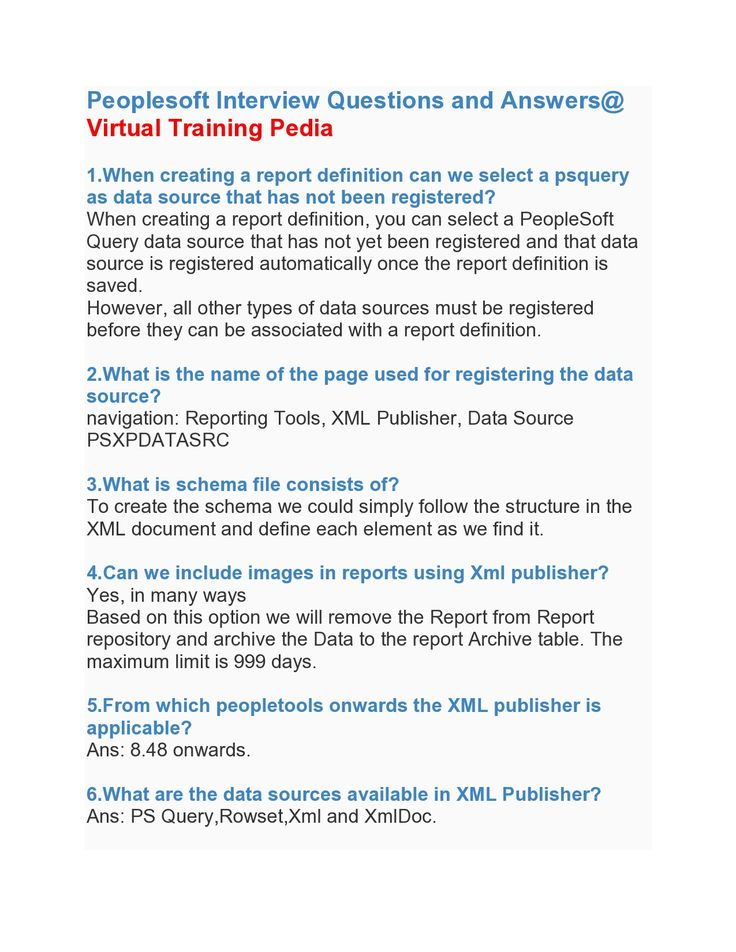 Good Here Are Some Interivew Questions On Peoplesoft.VTP Provides Peoplesoft  Online Training.Join VTP. Interview QuestionsJoin