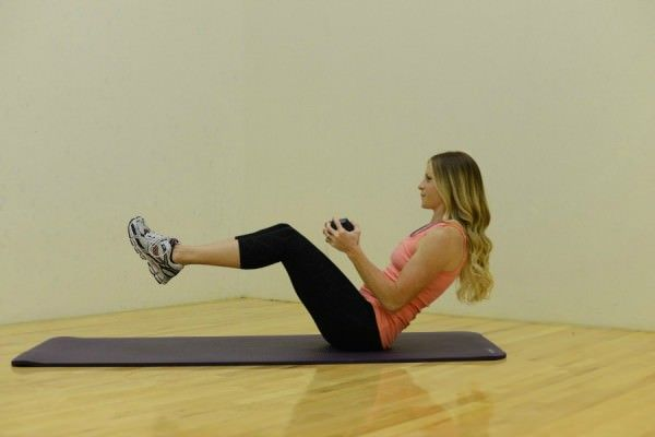ab exercises for the pouch