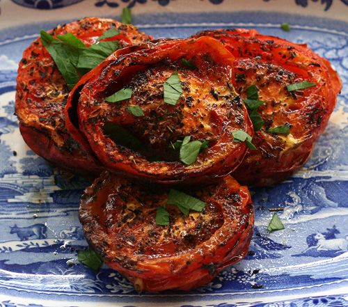 ACTIFRY GRILLED TOMATOES: These easy grilled tomatoes taste great, are virtually fat free, and make a great side to any meal, from breakfast to anti-pasto. 0 Weight Watchers PointsPlus®. http://www.cooksinfo.com/actifry-grilled-tomatoes