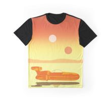 Landspeeder Graphic T-Shirt Landspeeder T-Shirt #movie #cinema #cinemagifts #moviegifts #nerd #geek #jedi #stawarsgifts #kids #mensfashion #geekgifts #scifi #SciFiMovies #movies #landspeeder #redbubble