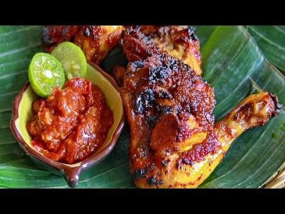 """Grilled Chicken"".......From Central Jawa-Indonesia......good to eat while warm"