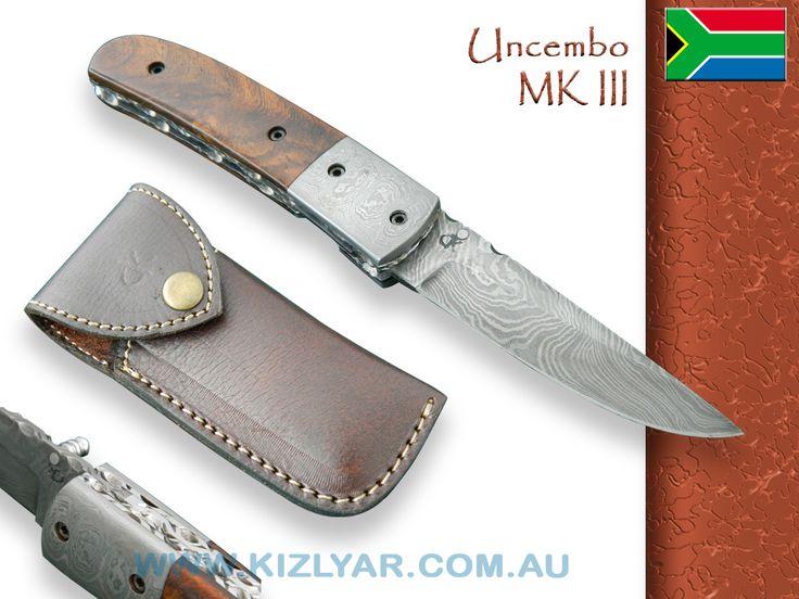 Kappetijn Uncembo MK III - Damascus / Rosewood