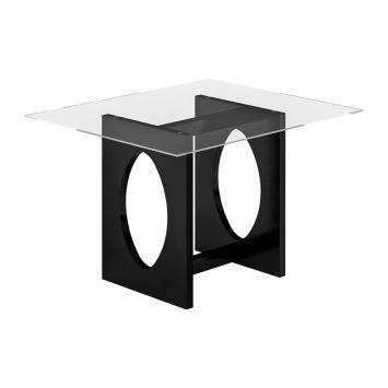 Mesa de Jantar Avulsa Retangular I Jéssica MDF Preto Cimol: Compre Mesas, Tables Quadro-Black, Turquoise Blue Tables, Jantar Avulsa, Dining Tables