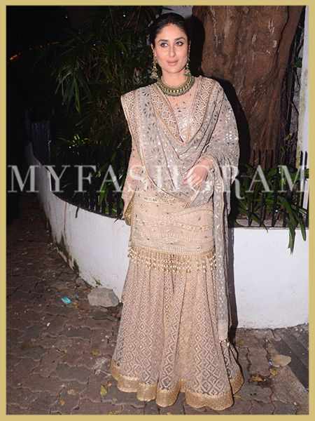 Kareena Kapoor Khan, Diwali 2017, Best Dressed Women, MyFashgram