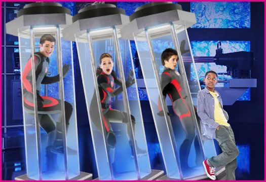 Lab Rats (2012– ) ~~ Comedy ~~ A scrawny 14-year-old, having discovered his inventor step-dad has three bionic, super-powered teens living cloistered in a secret lab beneath their home, brings them out into the world.