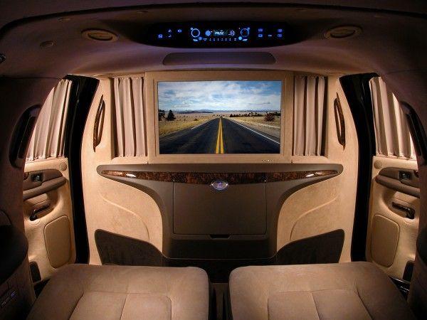 Cadillac In Luxury Interior