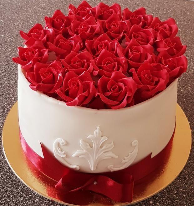 darček torta, Narodeninové torty