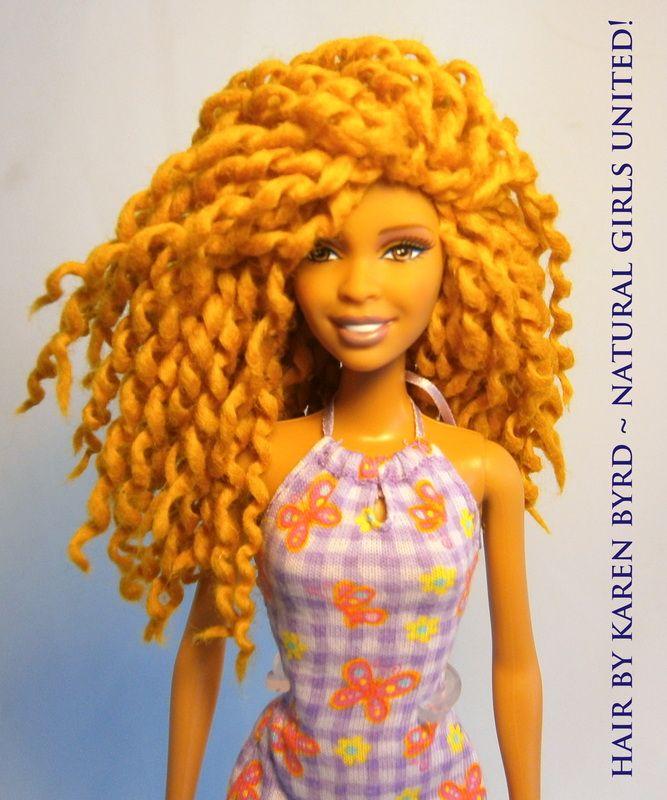Natural hair dolls!