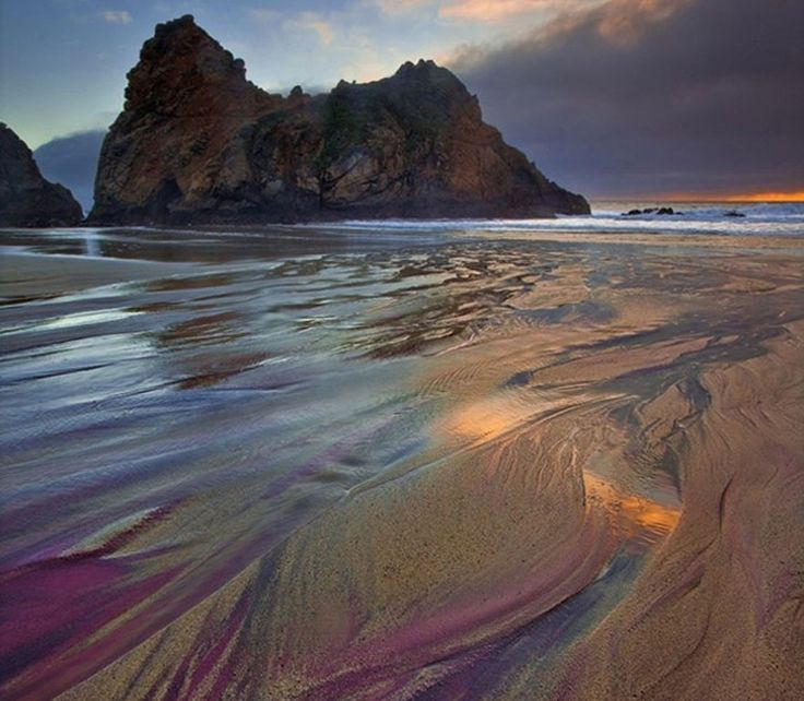 34 best images about plages de couleurs on pinterest for Best northern california beaches