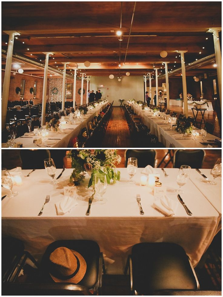 Cozy Rustic Winter Wedding Mill 1 At Open Square Holyoke Ma Blue