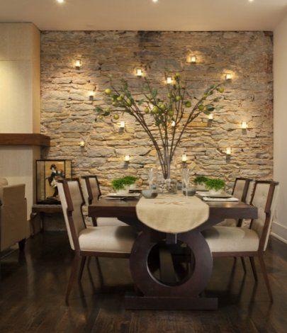 Dekoratik taş duvar kaplama tasarımları · Dekorasyon, Ev Dekorasyonu, Ev Tasarımı Döşemesi