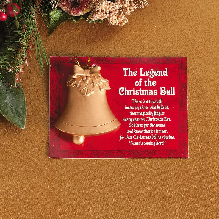 """Legend of the Christmas Bell"" Christmas Ornaments - TerrysVillage.com"