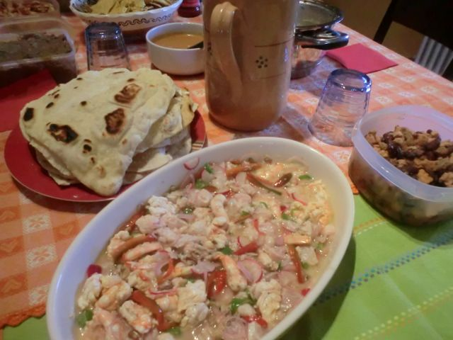 Mexican homemade food