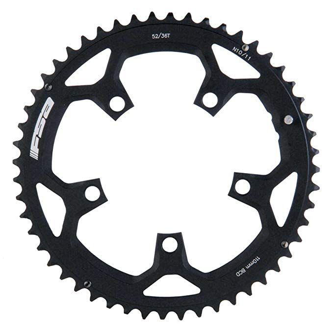 Full Speed Ahead Fsa Pro Road Bicycle Chainring 52t 110mm Review