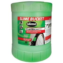 Slime Tube Sealant, 5 Gallon Container, for All Tires with Tubes, Non-Toxic, Single Unit SLMSB-5G