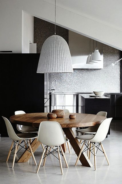 beautiful dining areas by the style files