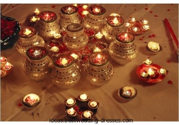 MEHANDI DESIGNS WORLD: Mehndi Plates Decorations WITH LAMPS / FLOWERS / TRADITIONAL ITEMS