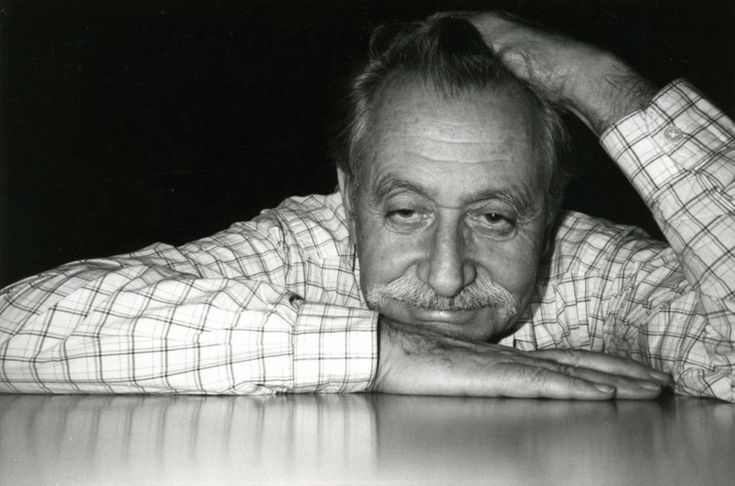 ETTORE SOTTSASS (1917-2007) was a grandee of late 20th century Italian design. Best known as the founder of the early 1980s Memphis collective, he also designed iconic electronic products for Olivetti, as well as beautiful glass and ceramics  http://designmuseum.org/design/ettore-sottsass