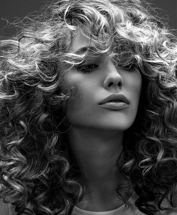 cool Dessange - Long Blonde curly hair styles   UKhairdressers.com