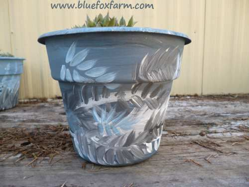 Rustic Blue Paint; evocative and primitive painting