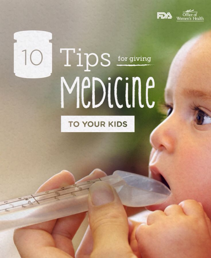 10 Tips for Giving Medicines to Kids