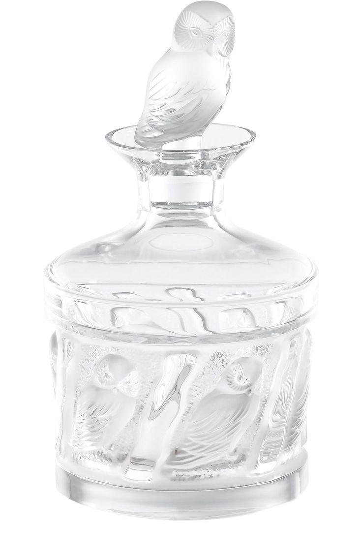 Lalique Штоф Owl Бесцветный 150 780 Р.