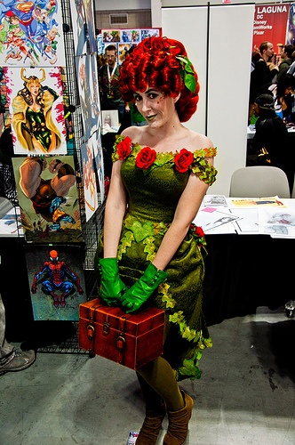 NYCC 2012 Steampunk Poison Ivy 1 - Favorite Costume at NYCC this year