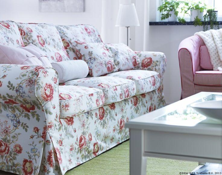 Cu husele detașabile poți schimba oricând culoarea canapelei tale EKTORP.   www.IKEA.ro/canapele_EKTORP