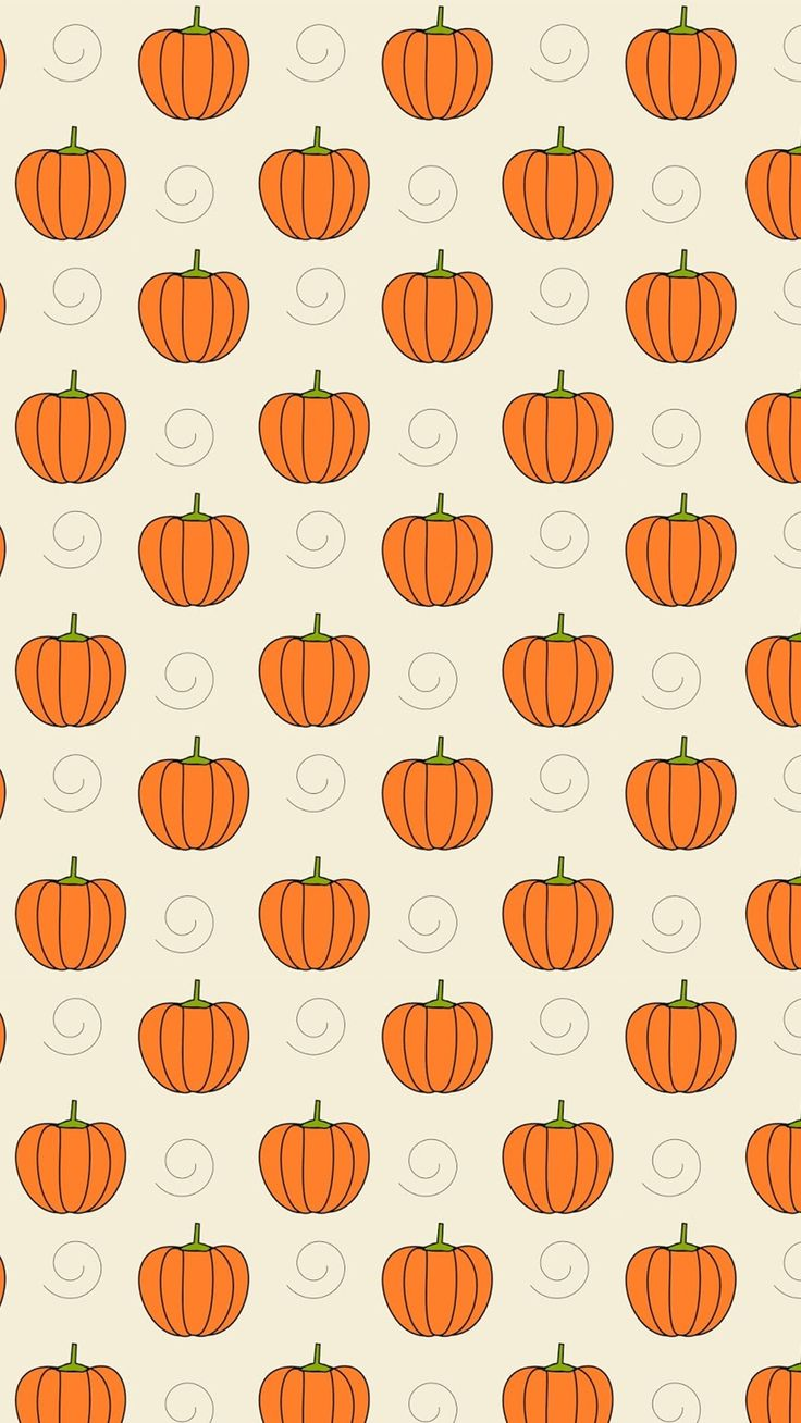 Pumpkins - Tap to see more cute halloween wallpaper! | @mobile9