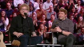 Interview Ed Sheeran & James Blunt #Taratata 24.02.2017