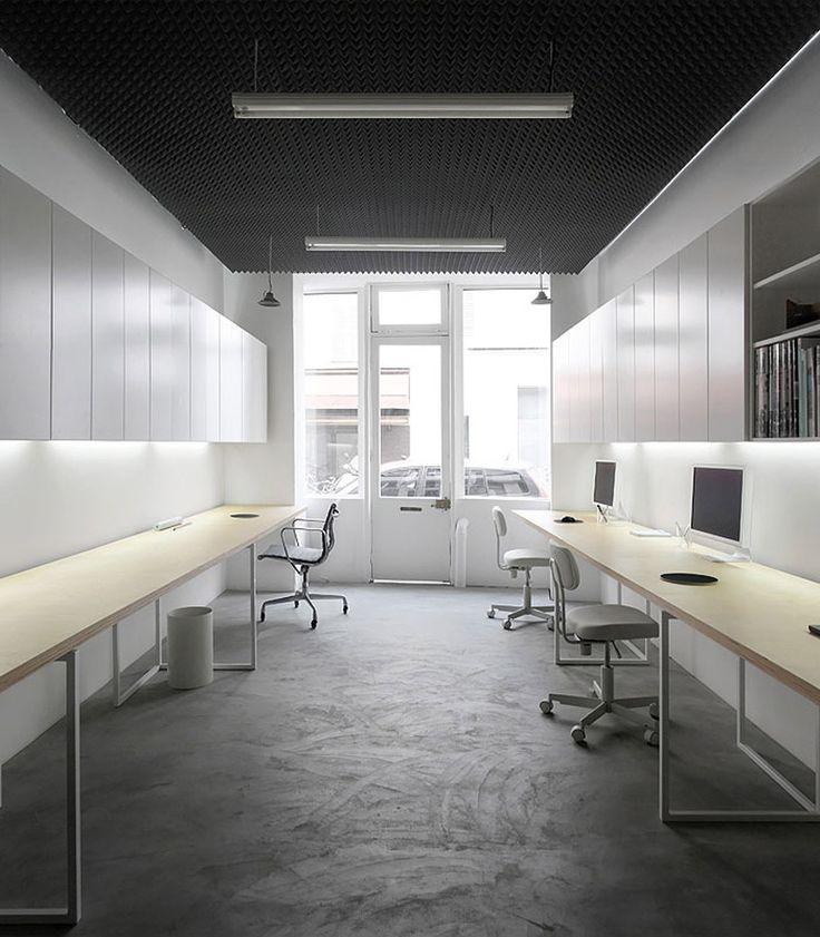 Basic office betillon dorval bory paris pyramidal for Interior design office inspiration