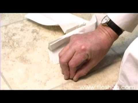 Learn step by Step instructions to change the color of your grout and get rid of stains. #DIY