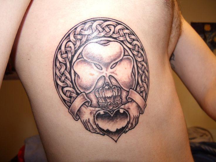 Irish Claddagh Tattoos | Special Tattoo Ideas, Claddagh Tattoo Designs For Men: Claddagh Tattoo ...