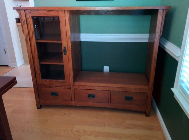 This Genius Turned A Piece Of Old, Useless Furniture Into The Ultimate Home  Accessory The Classic Entertainment System Furniture.