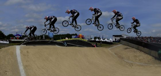 360 degrees video BMX World Cup finals Papendal