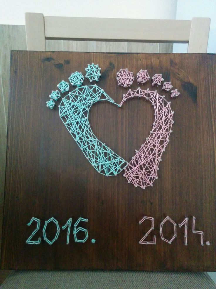 String art - Baby shower