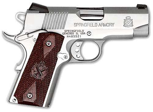 Springfield Armory Ultra Compact Stainless 1911 Pistol -- Ooh!  I want one!!  :)