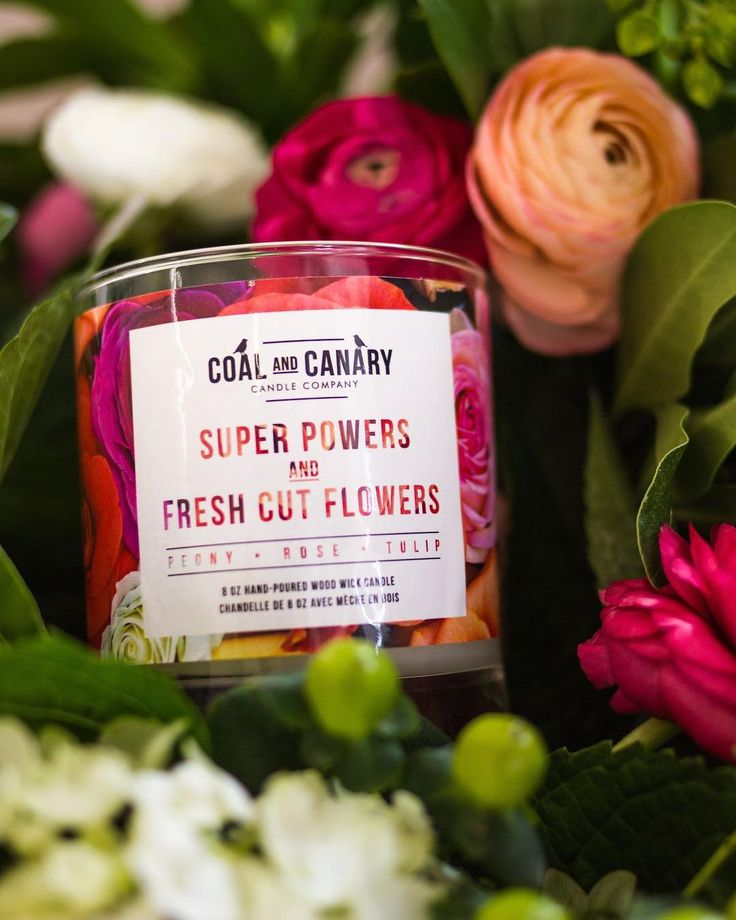 What should you get for your Super MOM? @coalandcanary's signature Mother's Day candle of course!