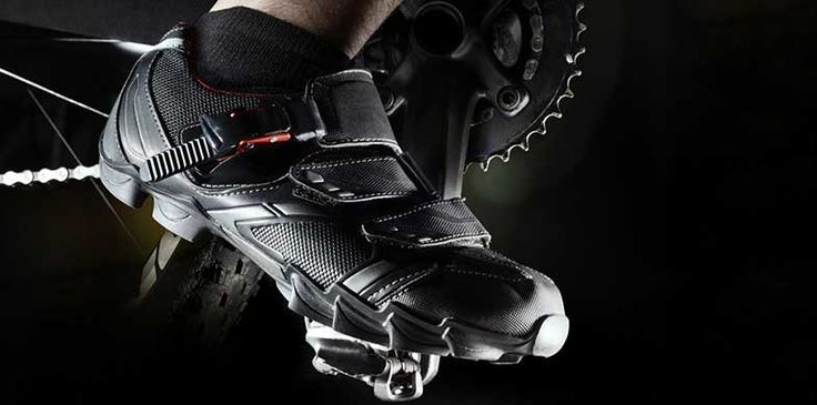 mountain biking that will work perfectly. Mountain bike shoes are durable and practical so the bargain will pay off in the long run.