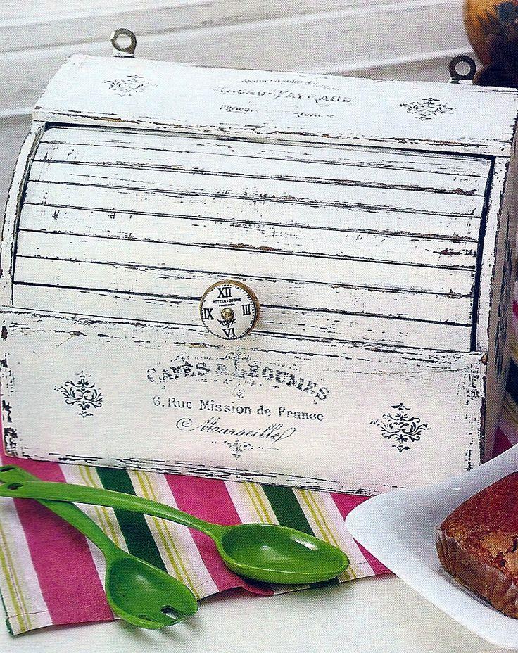 Caja para pan,decapada.