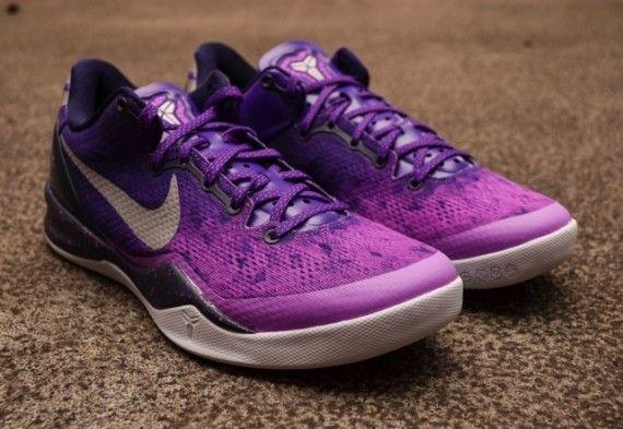 nike kobe 8 purple gradient arriving at retailers 3 570x393 Nike Kobe 8 Purple Gradient   Arriving at Retailers